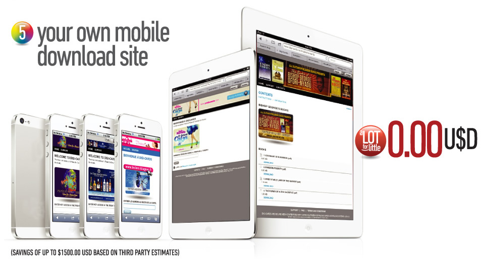 Your own mobile download site